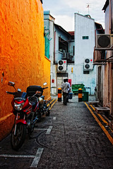 Always Behind (*Hurricane Hilda*) Tags: alley backlane lorong