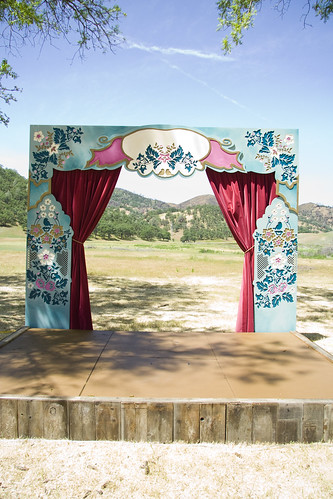 A beautiful backdrop for a fairy tale wedding