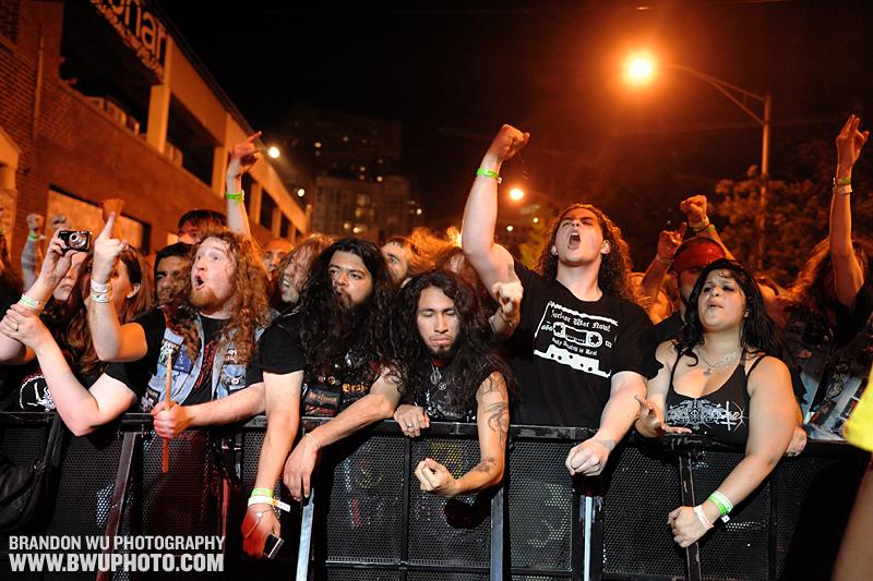 Fans @ Maryland Deathfest VII