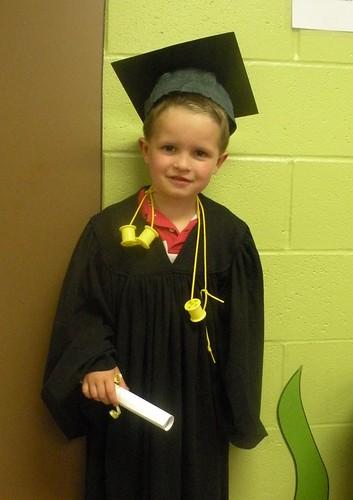Caleb the Pre-School Graduate