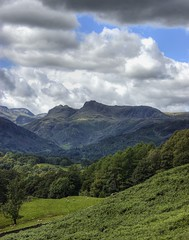England: Cumbria - Langdale Pikes (Tim Blessed) Tags: uk trees mountains nature clouds landscapes countryside scenery lakedistrictnationalpark singlerawtonemapped