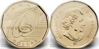 Kanada 1 dolár 2009 - Montreal Canadiens