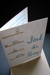 Stock the Pantry - invitation