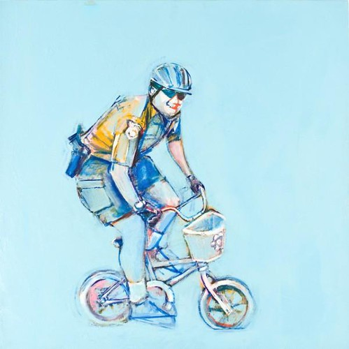 """bike gangster"" by Ed Saavedra"