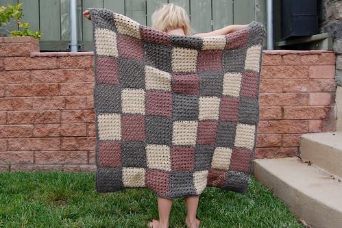 Caleb's blanket