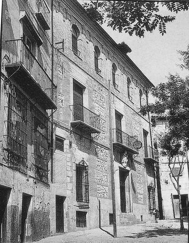 Plaza de San Justo (Toledo). Fondo Rodríguez
