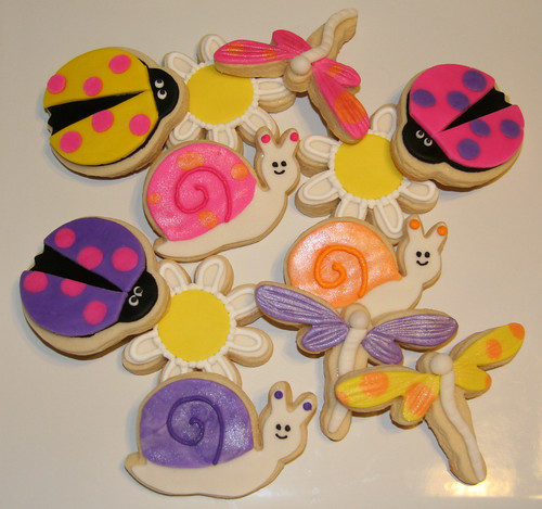 Spring cookies for a friend...