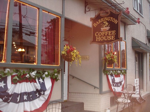 Front of the Barrington Coffee House
