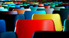 Colourfull chairs (Just a guy who likes to take pictures) Tags: city urban holland color colour art netherlands colors museum modern photography hall rotterdam europa europe gallery colours fotografie photographie kunst colorphotography nederland thenetherlands culture musee holanda hal paysbas farben niederlande the kleur kunsthal kleuren colourphotography musea kultuur kleurenfotografie colorsinourworld coloursinourworld