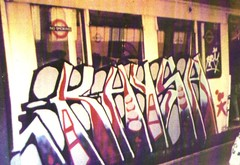 Kaysa (Mister Eps) Tags: london classic train graffiti tube tags kings hardcore 80s spectra homestyle burner krylon spraycanart dubs belton wildstyle handstyles sparvar tracksides wholecar stylewars hycote subwayart silvers beatstreet windowdown end2end buntlack carplan smoothrite watchingmynamegoby