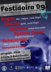 Cartaz Festidoiro 2009