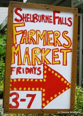 Shelburne Falls' Farmers Market on Fridays