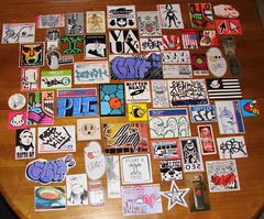 JUICCE Pack (joolsadat78) Tags: graffiti bride juice stickers nobody mtn trade campaign rwk biafra seo slaps vaux cisa packs traders ffsc delme graffitied plg stickertraders ohknoe
