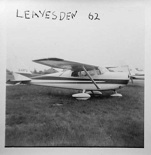 Cessna 137 Skylark G-AFRG @ Leavesden Aerodrome 1962 IMG_7631 ...