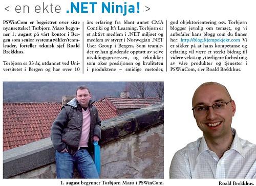 En ekte .NET Ninja!