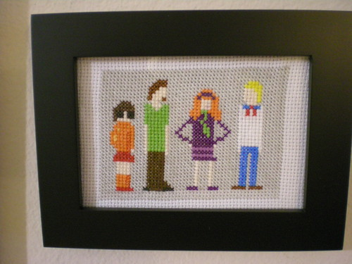 scooby crew xstitch
