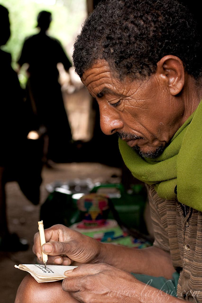 Kes Mogas, Gälawdios, Amhara, Ethiopia, July 2009