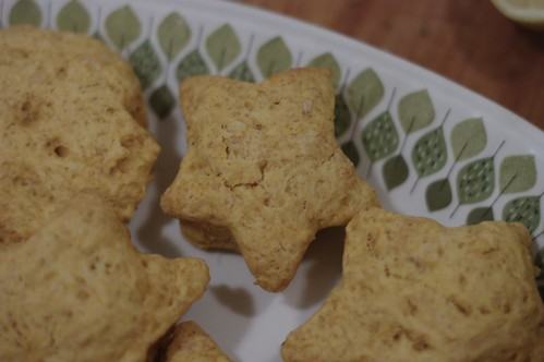 Yam and Honey Biscuits