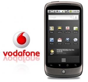 Nexus one Vodafone