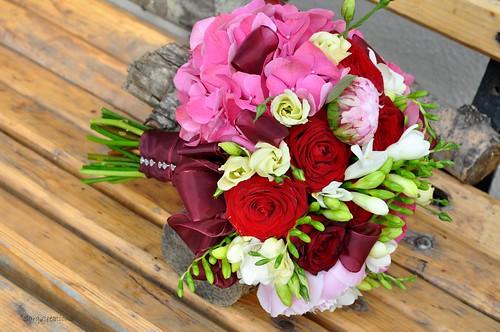 buchet mireasa - bridal bouquet