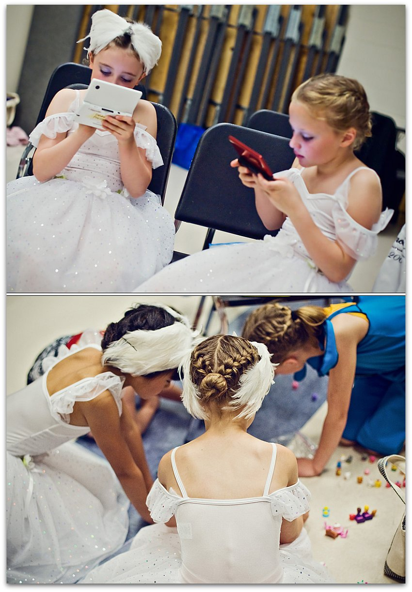 Ballet waiting Diptych 2