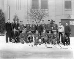 Canadian White Pine Hockey Club - Champions Marpole Hockey League - 1935-36