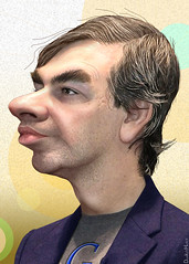 Larry Page - Caricature