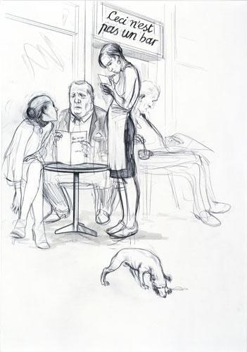 Charles Avery Untitled (Ceci n'est pas un bar) 2008