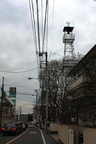 大沢宿の火の見櫓