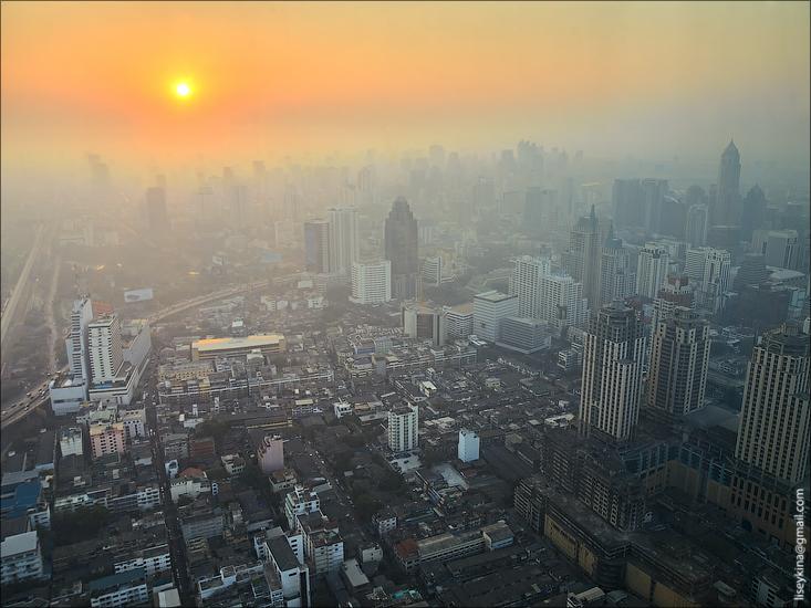 Sunsrise in Bangkok