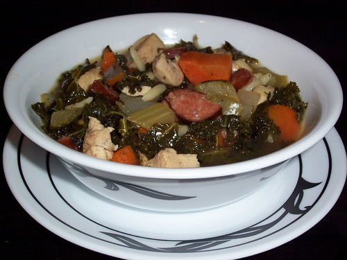 ChickenAndouilleSoup