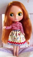 Ella's Pretty New Skirt!