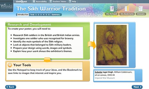 Webquests - Sikh Warrior Tradition