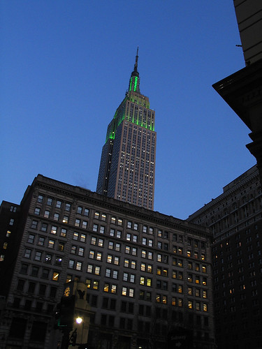 St Patricks Day, NYC