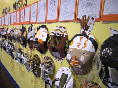 african masks for children. African Masks - Africa meets