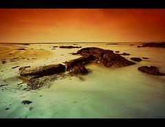 PLAYA DEL PLANETA MARTE. (PONCE 2007) Tags: sunset espaa orange beach photoshop spain playa andalucia cadiz naranja ponce tobacco jol cokinfilter cokin sigma1020 nd8 nd4 aplusphoto goldcollection canon40d photoshopcreativo