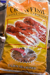 Pre-cooked, Seasoned, Frozen Crawfish