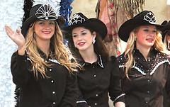 Rodeo Royalty (wyojones) Tags: girls beautiful beauty hat texas princess teens houston parade teen blonde cowgirl brunette cowboyhat rhinestones houstontexas texan houstonlivestockshowandrodeo houstonian rodeoprincess rodeoqueen rodeoroyalty wyojones