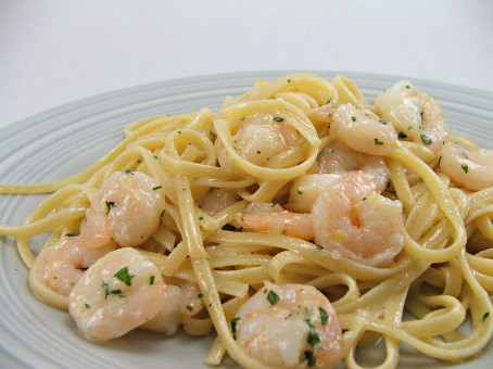 Garlic Shrimp Pasta 2