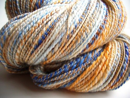 Team Spirit, merino-tencel, 323yds, 16WPI-2