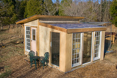 Chicken Coop Greenhouse
