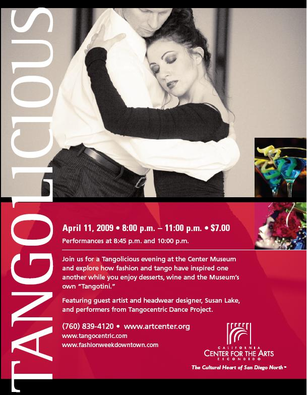 Tangolicious Dance Flyer