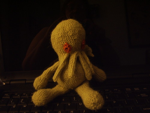 Cthulhu on the keyboard