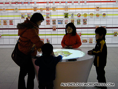 Interactive game for kids