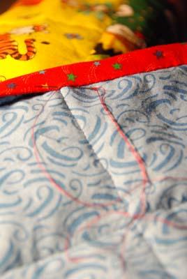 binding jonahs quilt