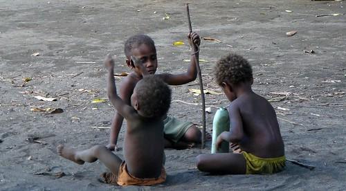 Vanuatu : Ile de Tanna #27 : enfants