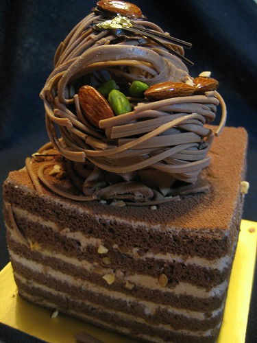 Gateau Melissa(chocolate cake) from GIOTTO