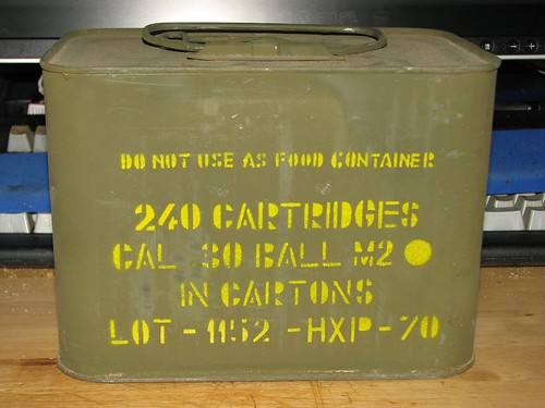 Can of M2 Ball from the CMP