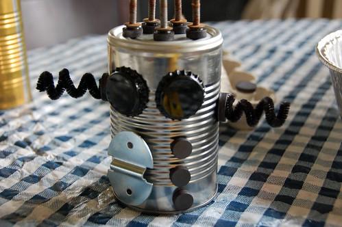 tin can robot craft