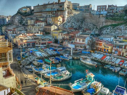 Marseille, le Vallon des Auffes